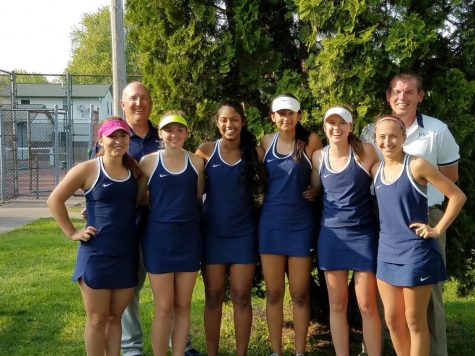 Spartan tennis girls capture 4th consecutive conference title