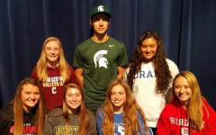 Spartans' symbolic signing excludes athletes without scholarships