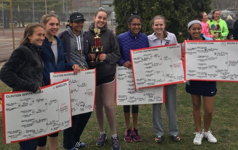 Girls' tennis comes to a close