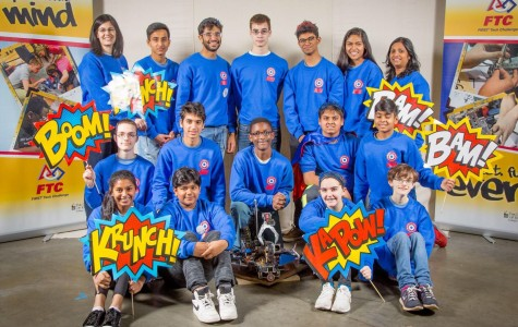 Local robotics team goes to world competition