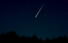 Oh, starry night: the Lyrid meteor shower