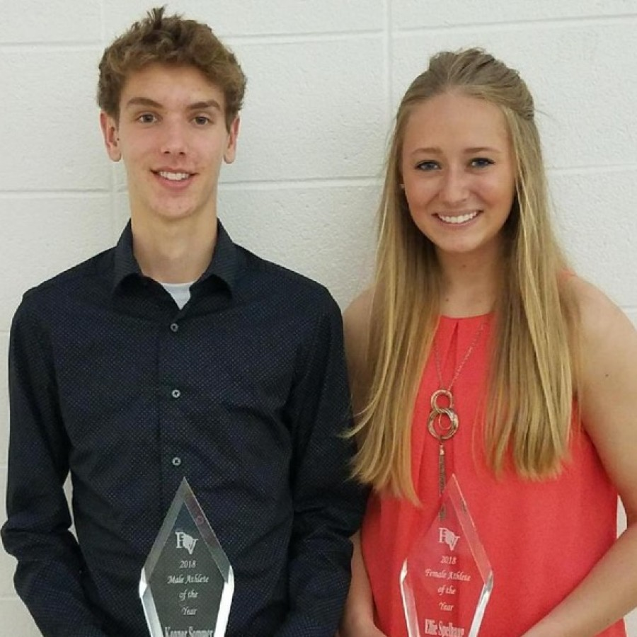 Pleasant Valley senior athletic awards