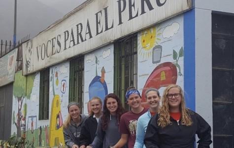 Spartans making change in Peru