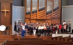 Chamber Choir honored to perform alongside professional choral ensemble
