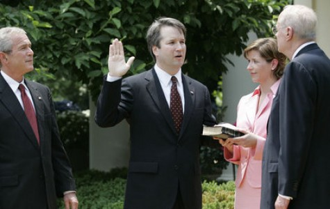 Brett Kavanaugh: officially a Supreme Court Justice