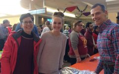 PV senior Christine Moose and her family volunteer at the annual Mr. Thanksgiving feast at South Park Mall on Thanksgiving Day
