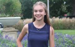 Sophomore Morgan Miller