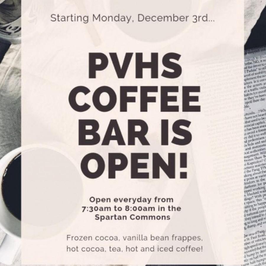 Spartan coffee bar opens