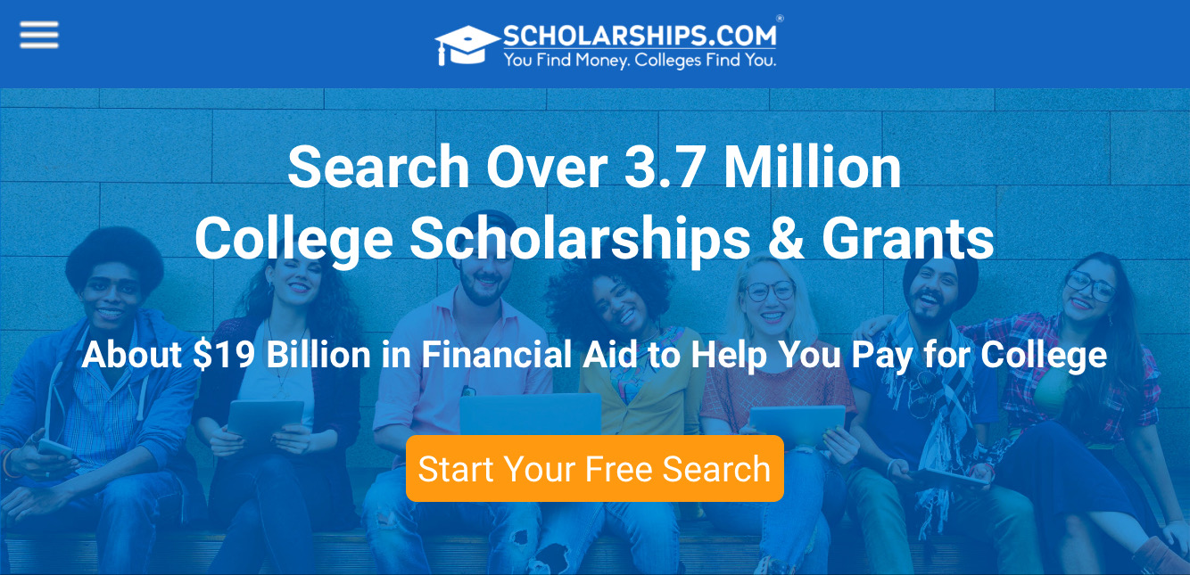 Scholarships.com provides an extensive database of scholarship opportunities for students applying to colleges