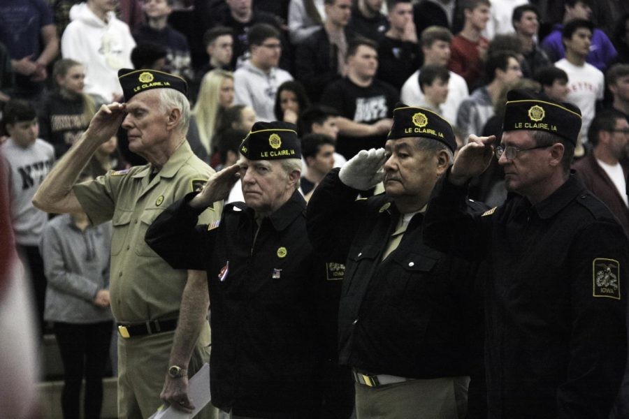 Veteran's Day assembly: Slideshow
