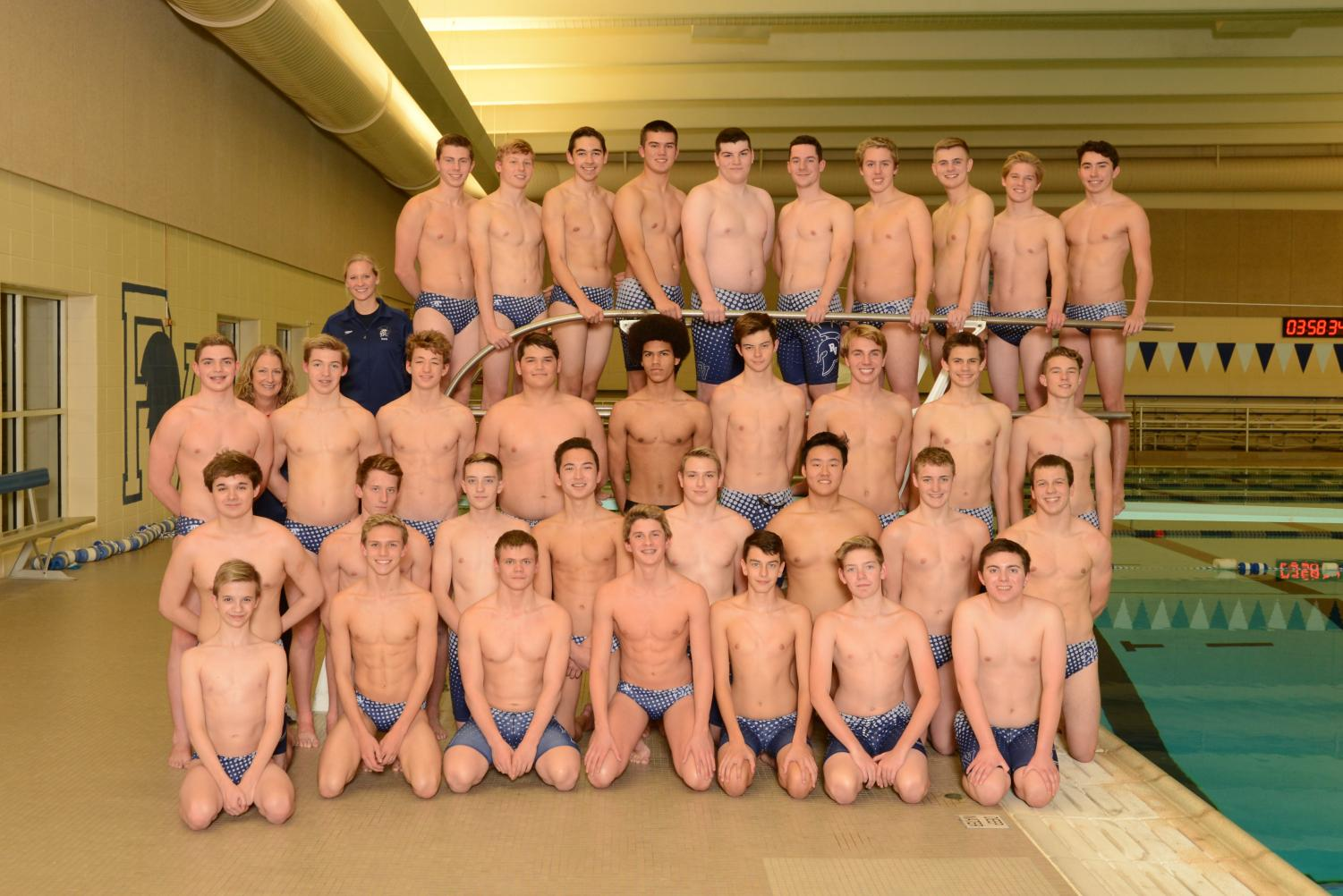 Boys swim team 2018