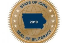 The new Seal of Biliteracy that students will receive on their transcripts if they are proficient in two or more world languages