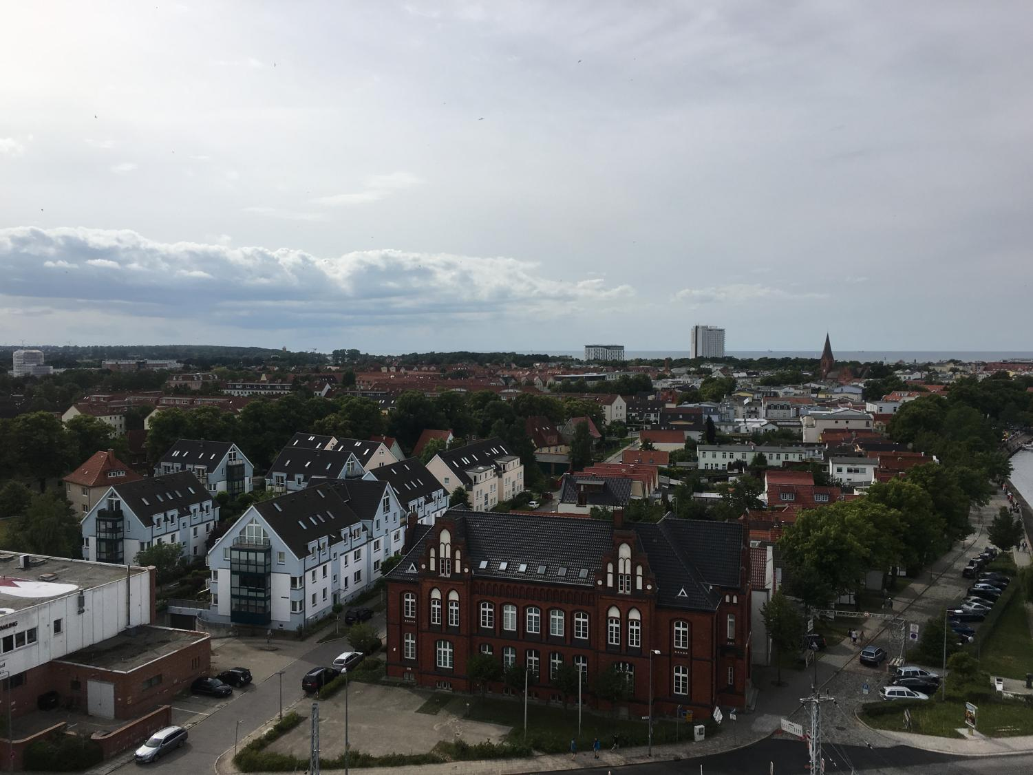The city of Rostock, Germany on July 9, 2016.