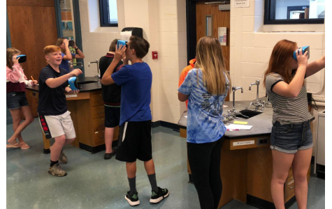 The classroom comes to life with virtual reality