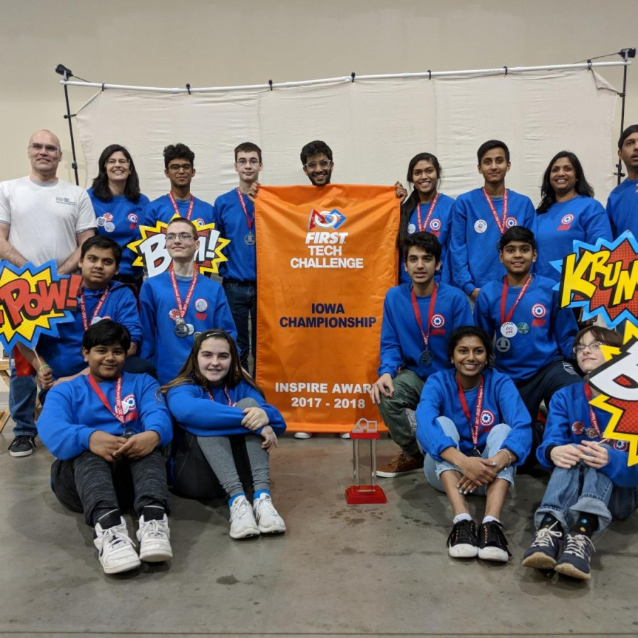 Local robotics team inspires students from across the globe