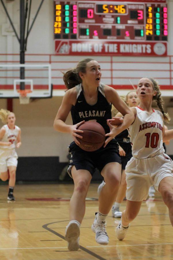 PV girls basketball crush the Knights: Slideshow