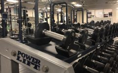 The weight lifting room that some 8th period gym members will now use routinely.
