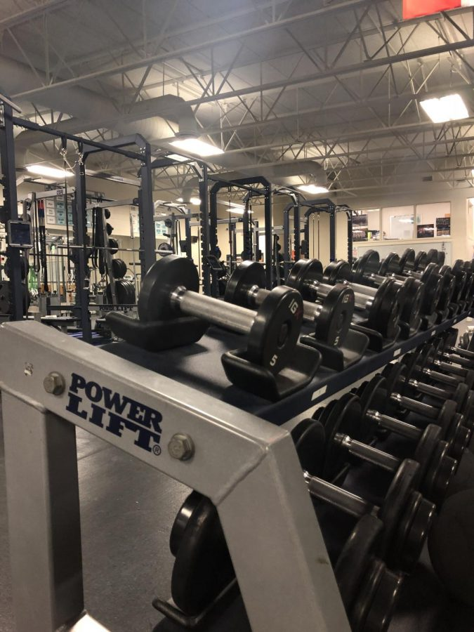 The+weight+lifting+room+that+some+8th+period+gym+members+will+now+use+routinely.