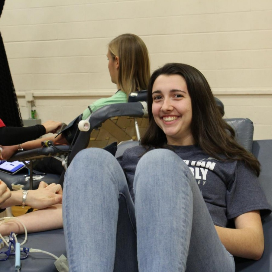 Despite weather conditions, PV holds blood drive