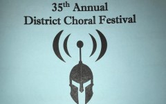 Concert program cover for the 2019 District Choral Festival.
