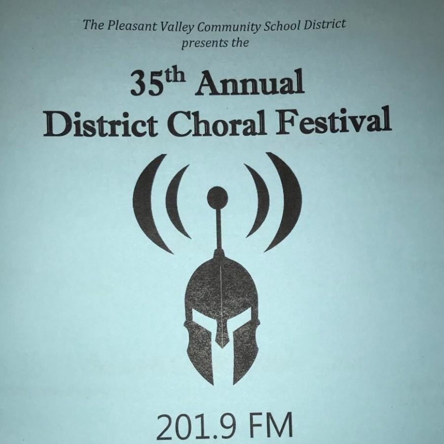 PV choirs perform at District Choral Festival – Spartan Shield