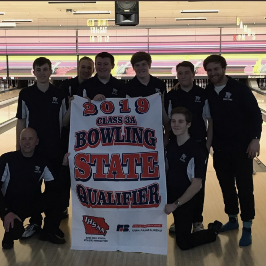 The+Pleasant+Valley+Boys+Bowling+Team+makes+Spartans+proud+being+IHSAA+3A+State+Runner-ups