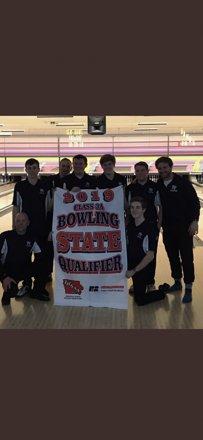 The Pleasant Valley Boys Bowling Team makes Spartans proud being IHSAA 3A State Runner-ups
