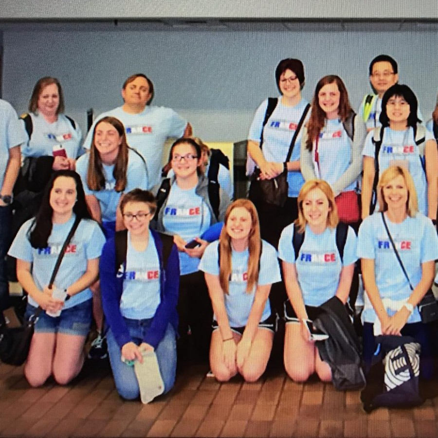 Students from PV go on a trip to France on June 15th, 2015.