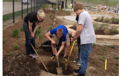 A district's perfect blend: Community service and learning activities come together
