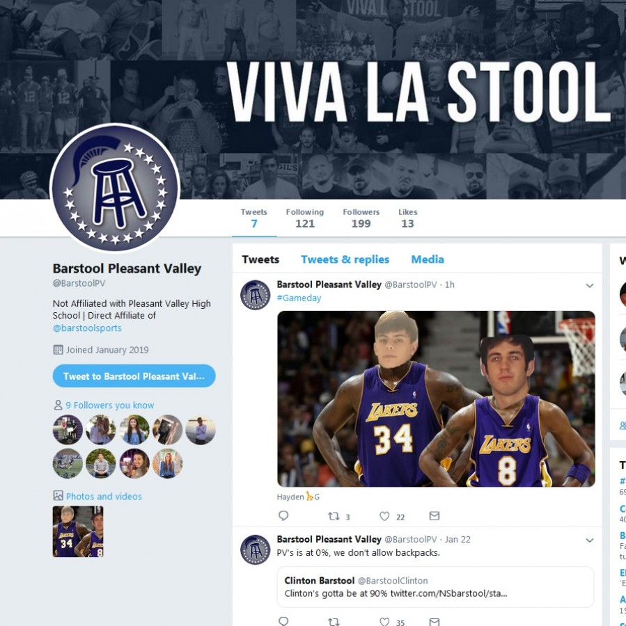 Barstool+Pleasant+Valley+is+a+new+Twitter+page+affiliated+with+Barstool+Sports%2C+but+unaffiliated+with+the+district.+
