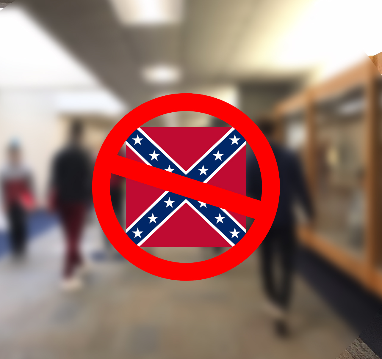 Several Pleasant Valley students recently complained to administration when a peer wore a sweatshirt with the Confederate flag to school, causing administrators to better define student rights.