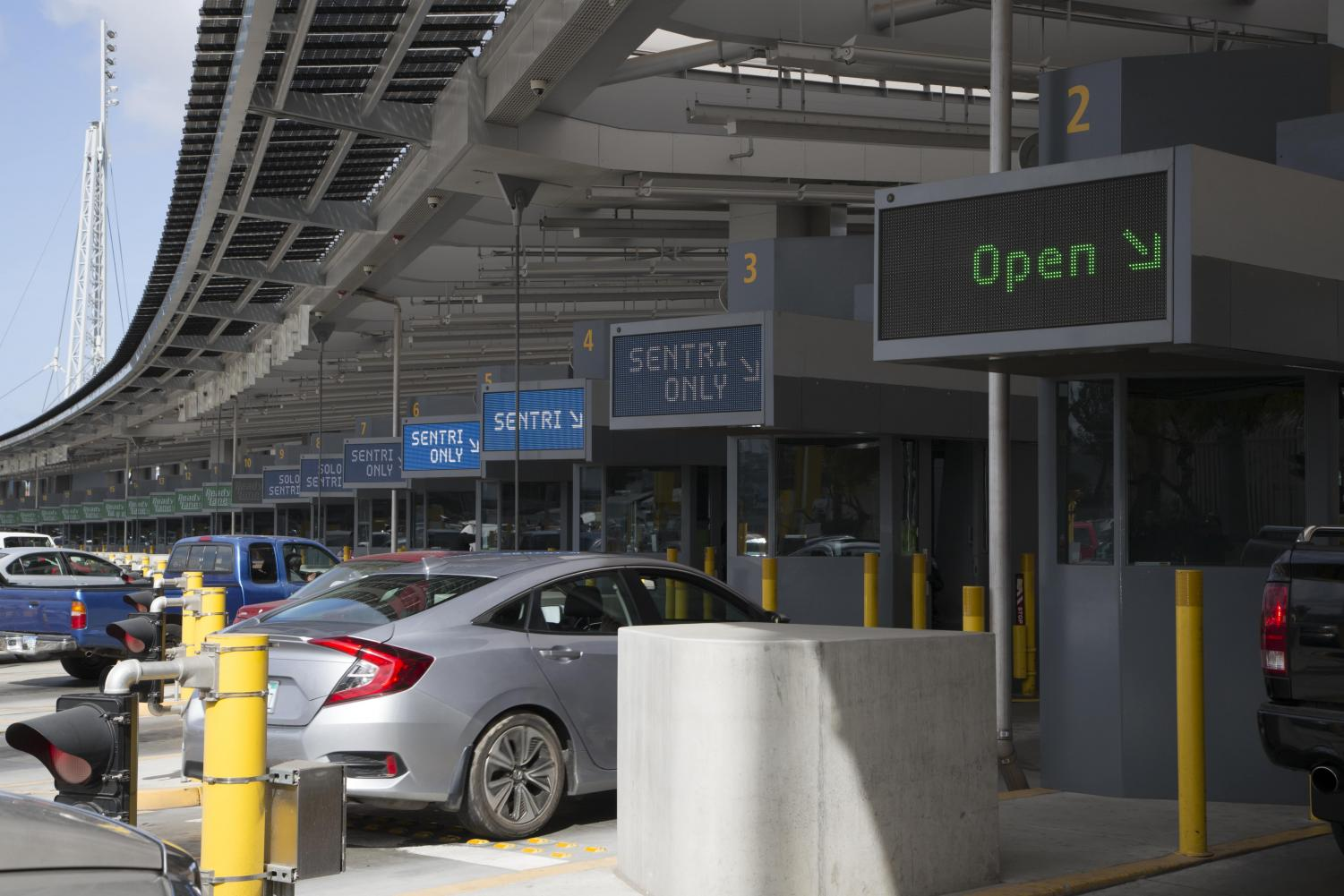 The San Ysidro Border Crossing is one of the most busy borders in North America.