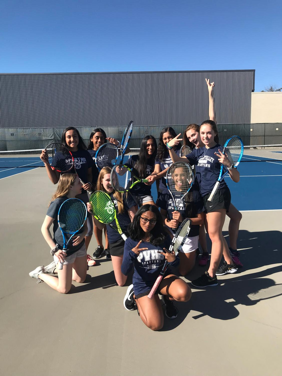 The Varsity team lets loose while they prepare for the season ahead.