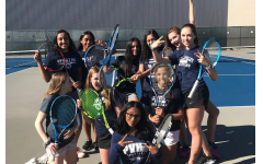 Girls' tennis starting strong