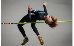 Through the ups and downs: one high jumper's journey to success at the Drake Relays