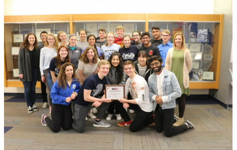 PV's journalism program goes for the gold at spring competition