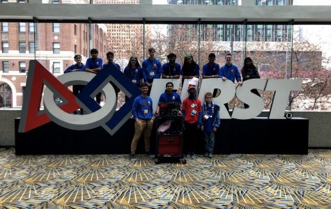 Slideshow: Robotics team competes at FIRST World Championship