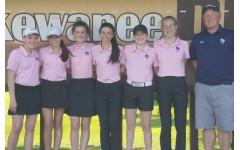 On the road to girl's golf districts