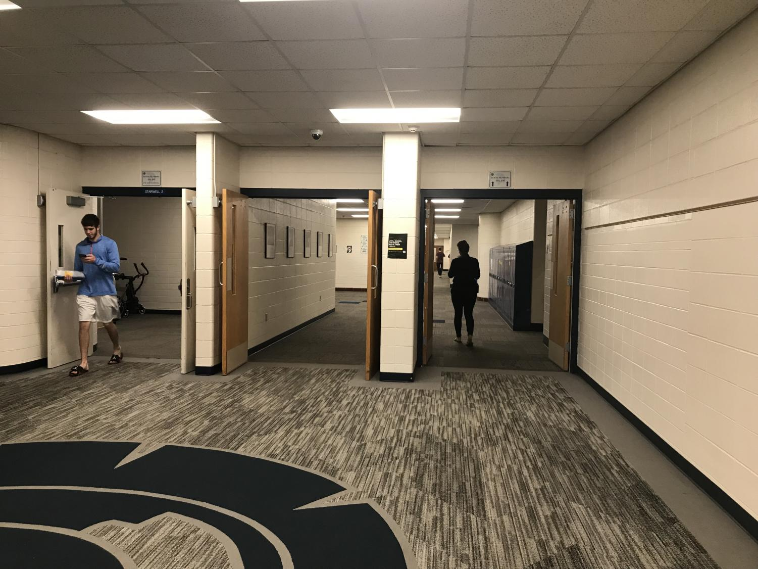 A photo of the halls of PV where change will soon occur in the following year.