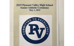 PV athletes recognized at Senior Athletic Ceremony