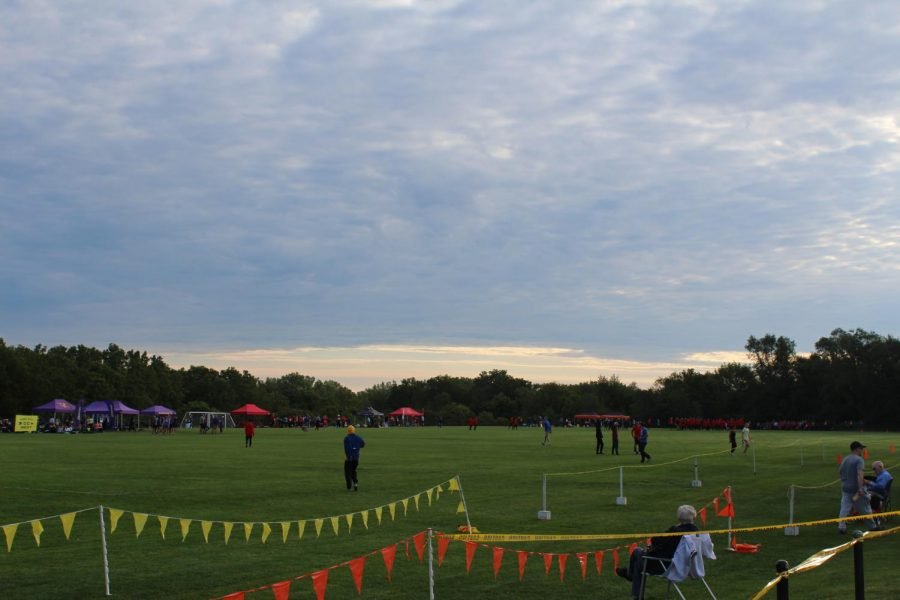 The+cloudy+skies+and+the+open+fields+showcase+the+calm+on+September+7th%2C+2019+before+the+racing+begins+at+Crow+Creek+Park+in+Bettendorf.%0A