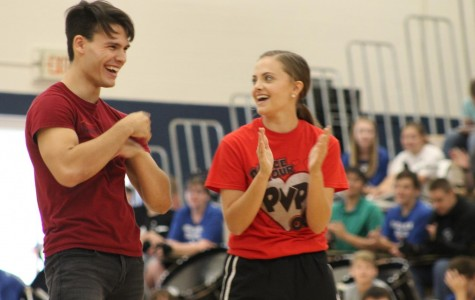Dancing with the Studs helps kick off the Student Hunger Drive at PV