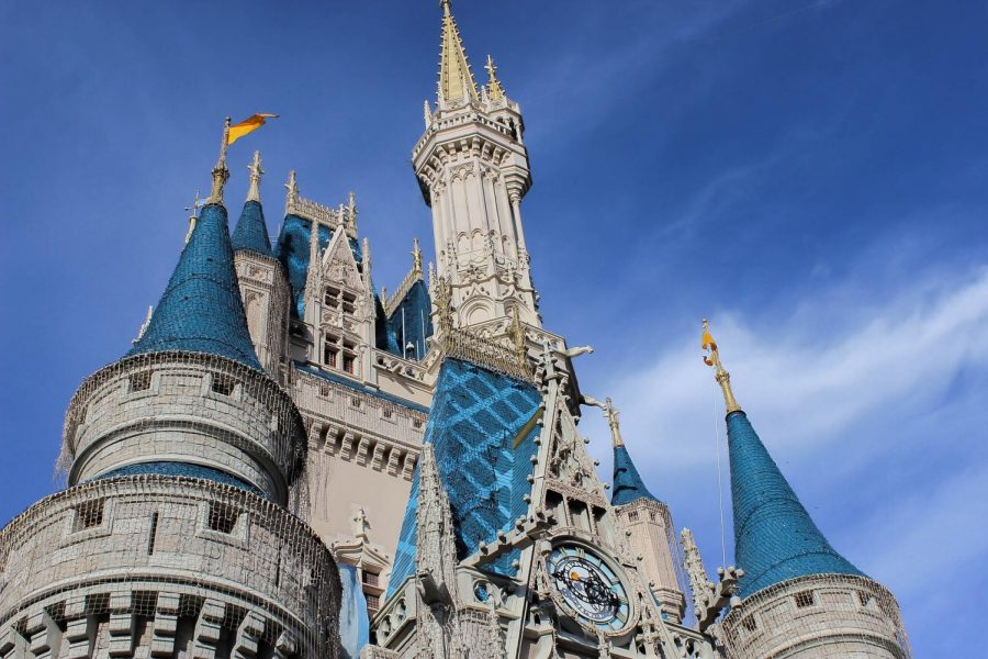 The iconic Disney castle shows how popular the brand has become.