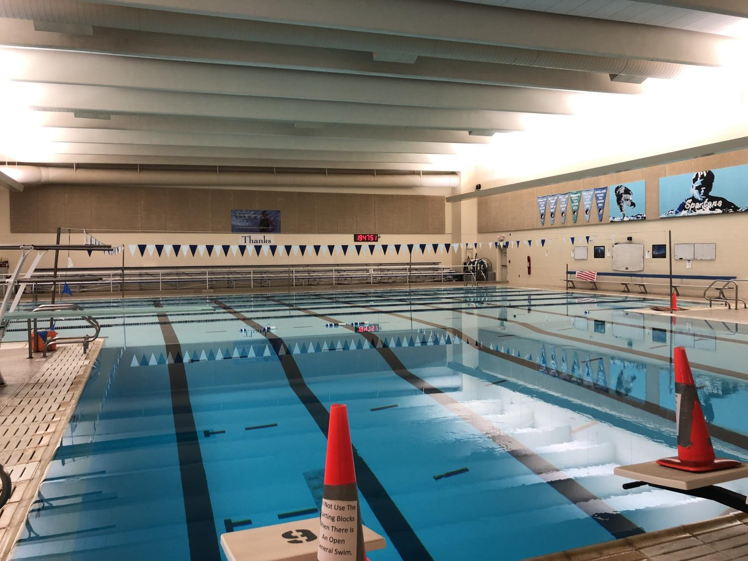The PV pool bulkhead construction will start in the spring of 2020, along with new starting blocks.