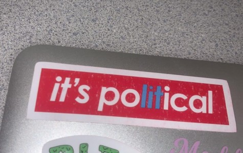 Popular sticker among students, expressing the excitement around politics. Found on Licea's laptop.