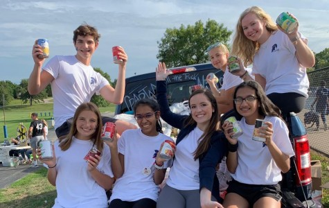 Spartan Nation kicks off the Student Hunger Drive with high hopes