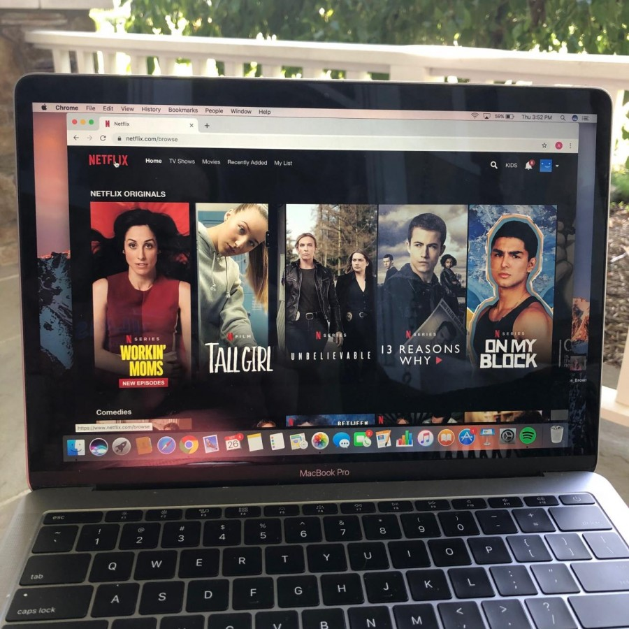 Netflix%2C+one+of+the+leaders+of+the+streaming+industry%2C+displays+its+original+content+on+its+home+page.