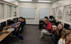AP Music Theory, one of many classes to use AP Classroom, prepares for another day of class.