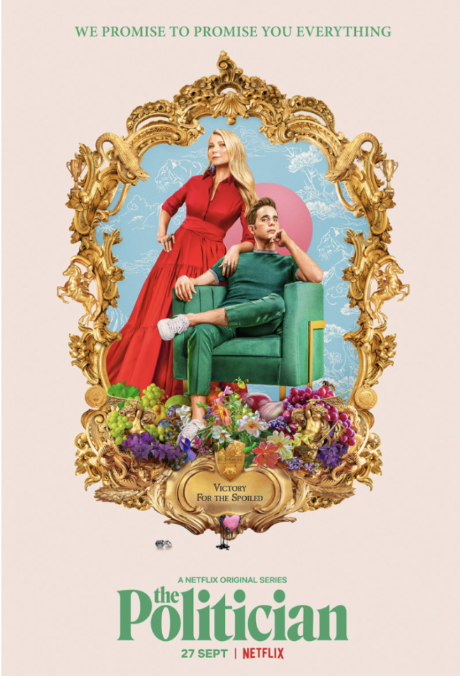 One of the show's press release posters, featuring Ben Platt and Gwenyth Paltrow.