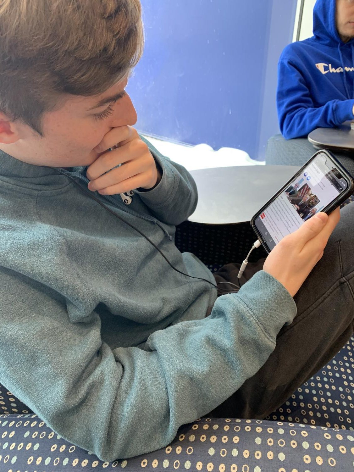 Senior Cole Harris is learning more about the president's case about tax returns.